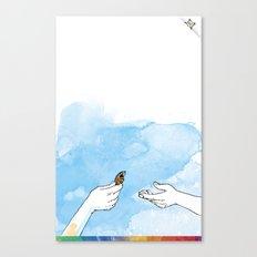 you're COLOR - Page 1 Canvas Print