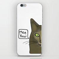 Mee Yow iPhone & iPod Skin