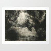 Impact At Sea 3 Art Print