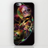 Vivid Skulls of Life iPhone & iPod Skin
