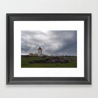 Eshaness Lighthouse Framed Art Print