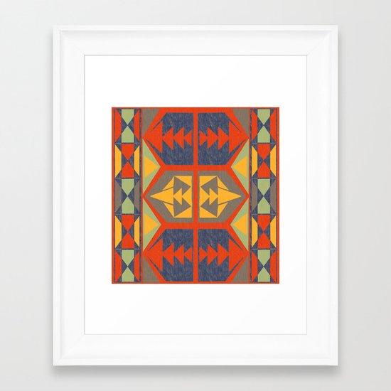 Going Native Framed Art Print