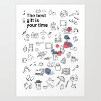 The Best Gift Is You Tim… Art Print