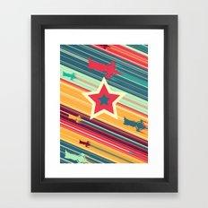 A Dandy guy... In Space! Framed Art Print