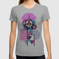 BeautifulDecay II Womens Fitted Tee Athletic Grey SMALL