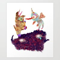 I Don't Believe Using Your Psychic Powers Art Print