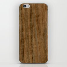 Etomie (Flat Cut) Wood iPhone & iPod Skin