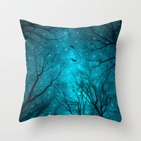 Throw Pillow featuring Stars Can't Shine Without Darkness  by soaring anchor designs