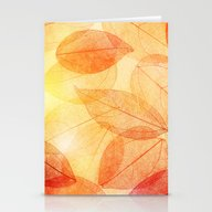 AUTUMN 8 Stationery Cards