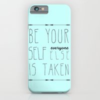 iPhone & iPod Case featuring Be Yourself by Sandra Arduini