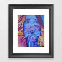 I suck Framed Art Print