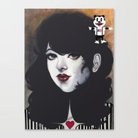 Darlene Canvas Print