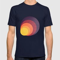 Colors Mens Fitted Tee Navy SMALL