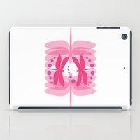 dragonfly pattern 2 iPad Case