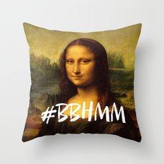 #BBHMM Throw Pillow