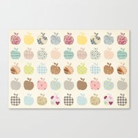 apples galore Canvas Print