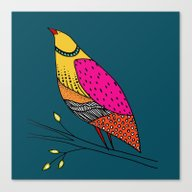 The Colored Neville Canvas Print