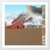 Atmosphere 3 · The Ice … Art Print