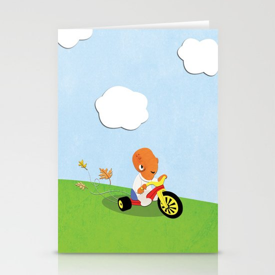 SW Kids - Big Wheel Ackbar Stationery Card