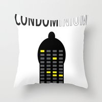 CONDOMINIUM Throw Pillow