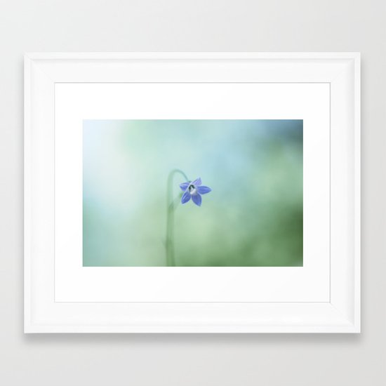 The Morning Blues Framed Art Print