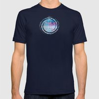 Les Aventures - JUSTART © Mens Fitted Tee Navy SMALL