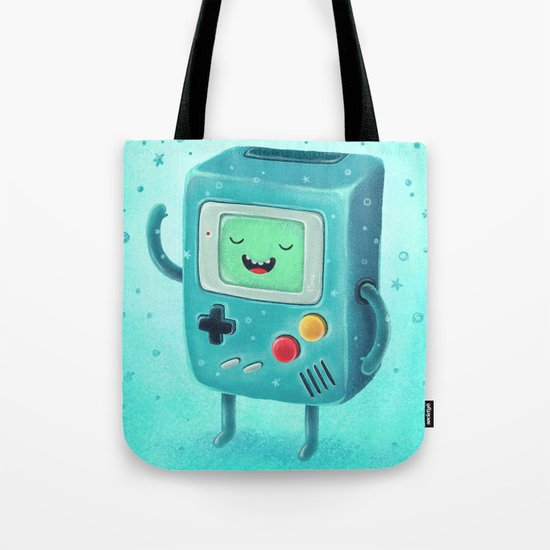 Game Beemo Tote Bag
