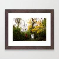 cornear Framed Art Print