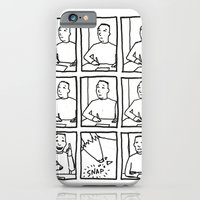 iPhone & iPod Case featuring Writer's Block by Laurent Hrybyk