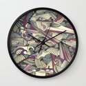 When my Mind Goes Boom. Wall Clock