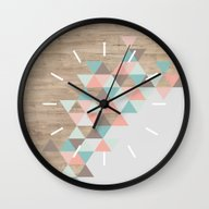 Wall Clock featuring Archiwoo by Marta Li