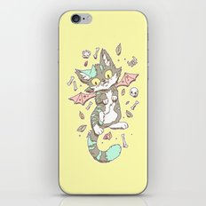 Monster Cat iPhone & iPod Skin