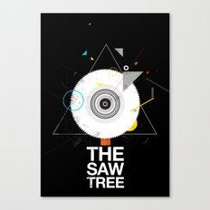 The saw tree Canvas Print
