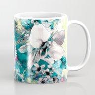 Blue Garden Mug