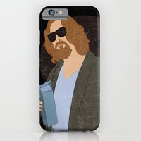 iPhone & iPod Case featuring El Duderino by Eveline
