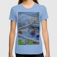 Wild Bears Womens Fitted Tee Athletic Blue SMALL