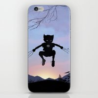 Wolverine Kid iPhone & iPod Skin