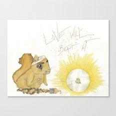 Love has it Canvas Print