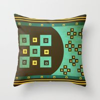 Shiny Stars Throw Pillow