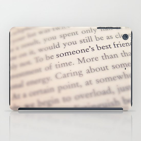 Someone's Best Friend iPad Case