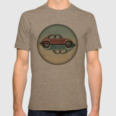 Vw  Ying And Yang Mens Fitted Tee Tri-Coffee SMALL