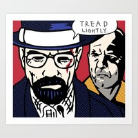 Tread Lightly Art Print