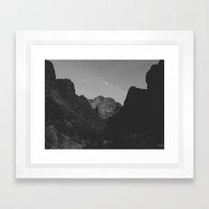 Palm Canyon Framed Art Print