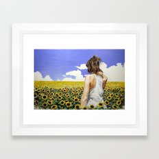 Investigación plástica Framed Art Print