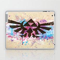 Splash Triforce Emblem Laptop & iPad Skin