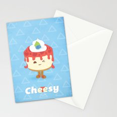 Cheese Cake Stationery Cards