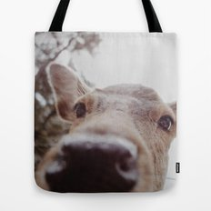 Deer Selfie Tote Bag