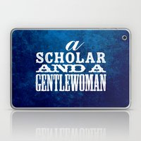 A Scholar and a Gentlewoman Laptop & iPad Skin