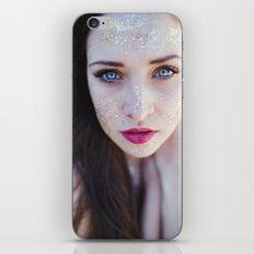 Glitter eyes iPhone & iPod Skin