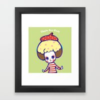 Have fun in whatever you do Framed Art Print